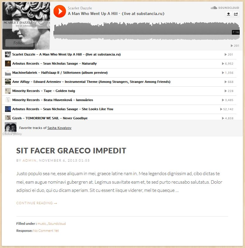 Blog Format - SoundCloud