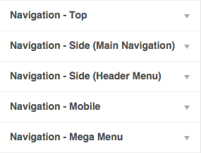 Several Navigation Options