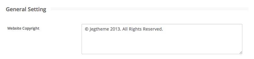 Website Copyright