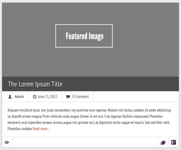 Featured Image Preview