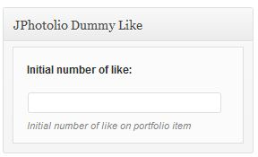Portfolio Dummy Like Tab