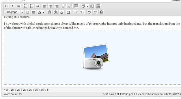 Gallery Image Shortcode