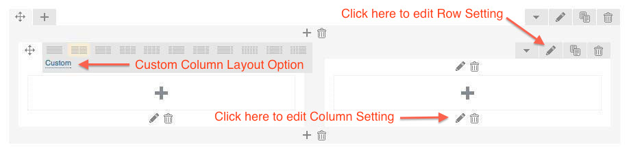 Column Options