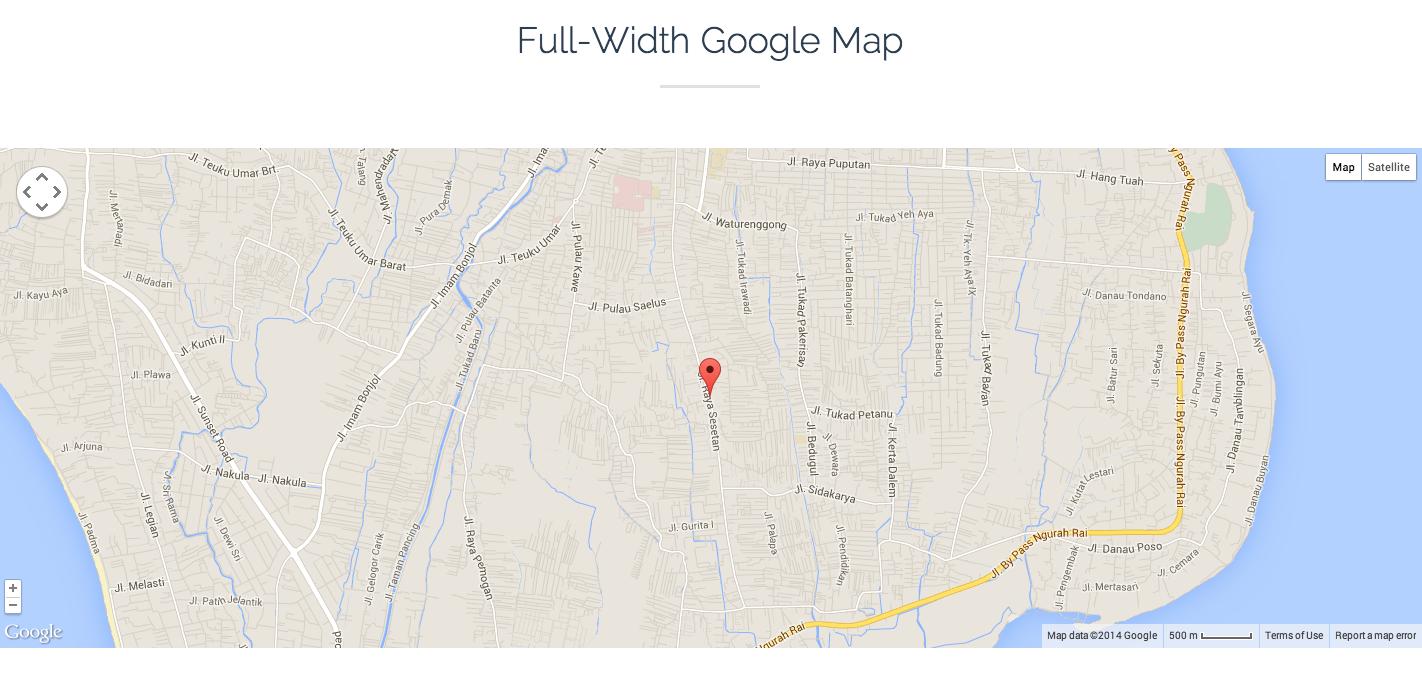 JKreativ - Fullwidth Map Preview