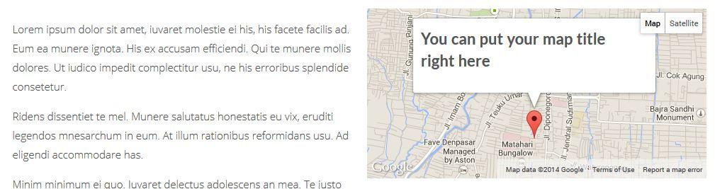 JKreativ - Google Map Preview