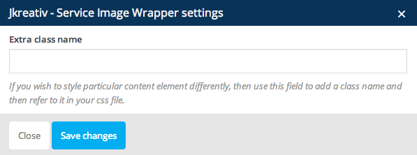 JKreativ - Service Image Wrapper Settings