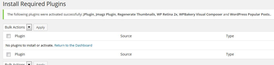 Finish Installing Plugin