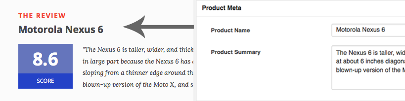 Product Meta