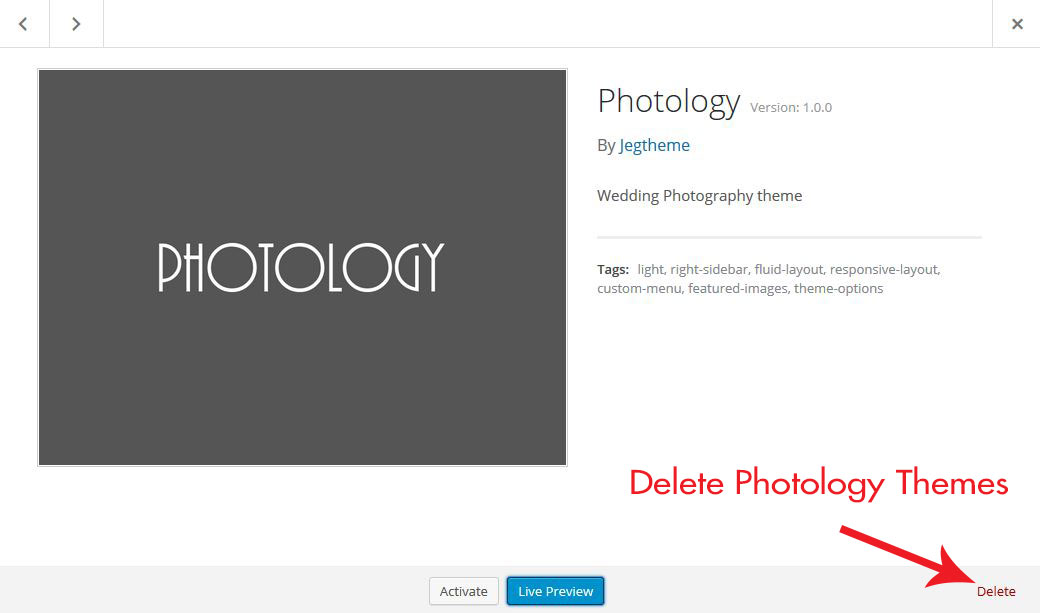 Delete-Photology