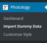 Import Dummy Data