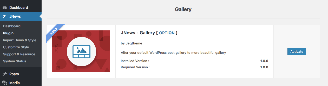 Gallery – Jegtheme Support & Documentation