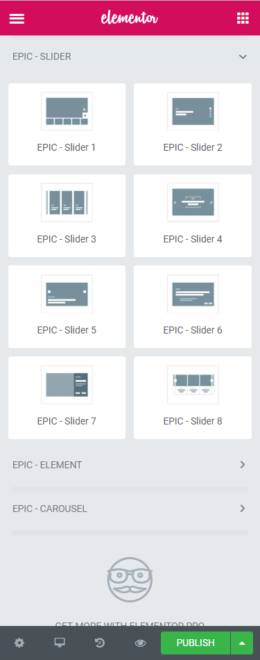 Elementor Element Option Jegtheme Support Documentation